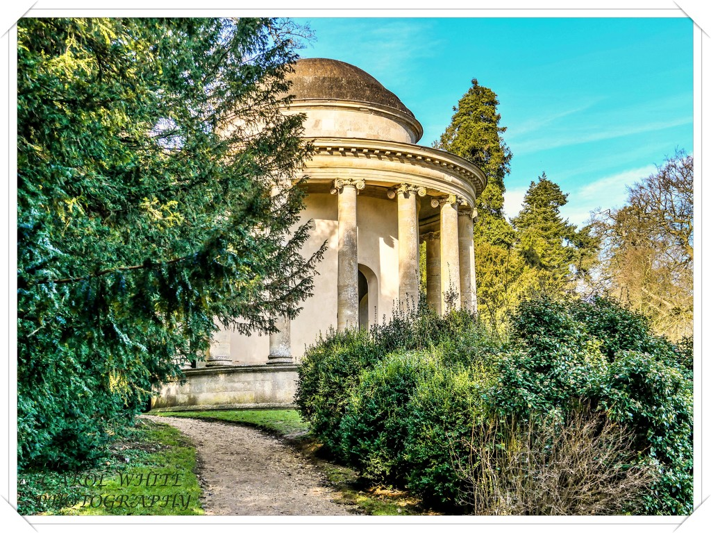 Temple Of Ancient Virtue,Stowe Gardens by carolmw