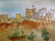 22nd Feb 2020 - Ludlow castle by Jane.