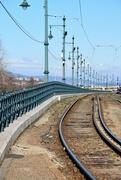 21st Feb 2020 - Tram tracks along the Danube