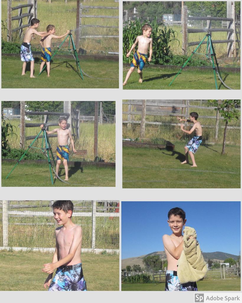 Grandson Summer Fun by bjywamer