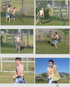 27th Feb 2020 - Grandson Summer Fun