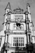 25th Feb 2020 - The Tower of the Five Orders B&W