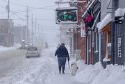 27th Feb 2020 - Alexandria's Main Street in a Storm