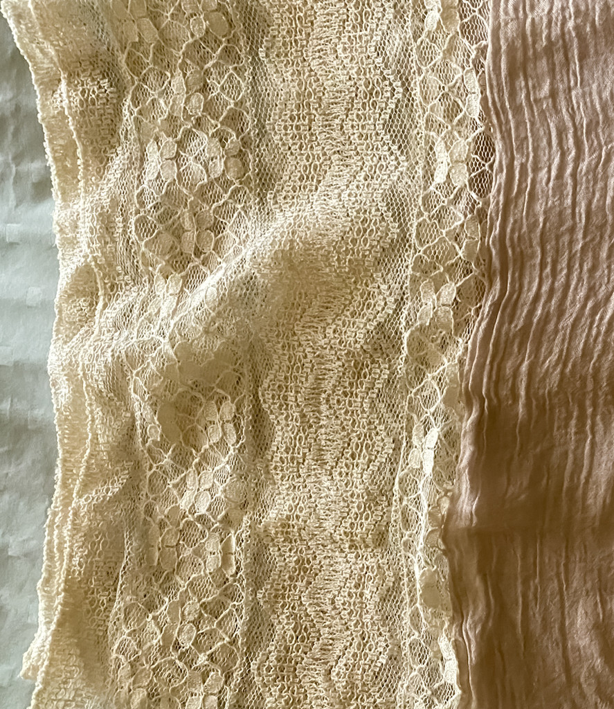 Lace Neck Scarf by sprphotos