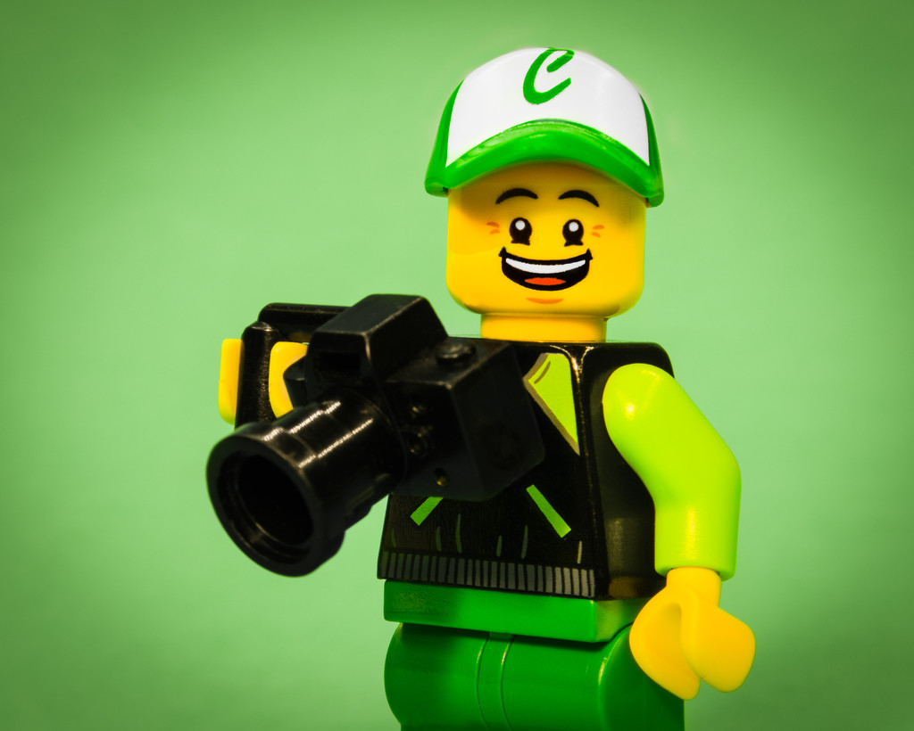 (Day 15) - Friendly Legographer by cjphoto