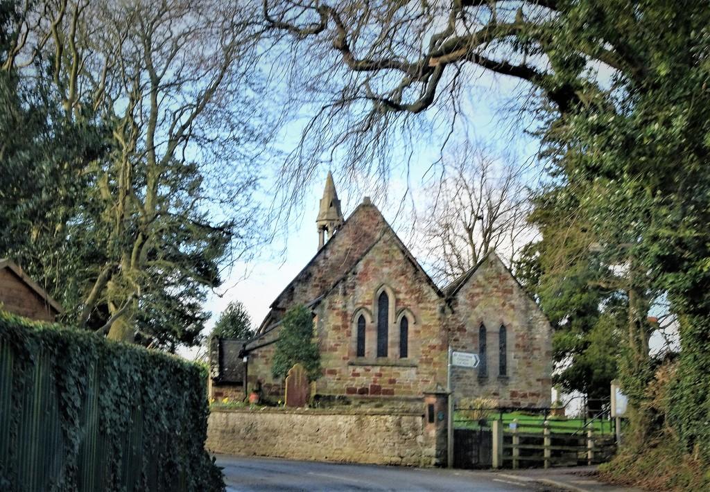 A rural church  by beryl