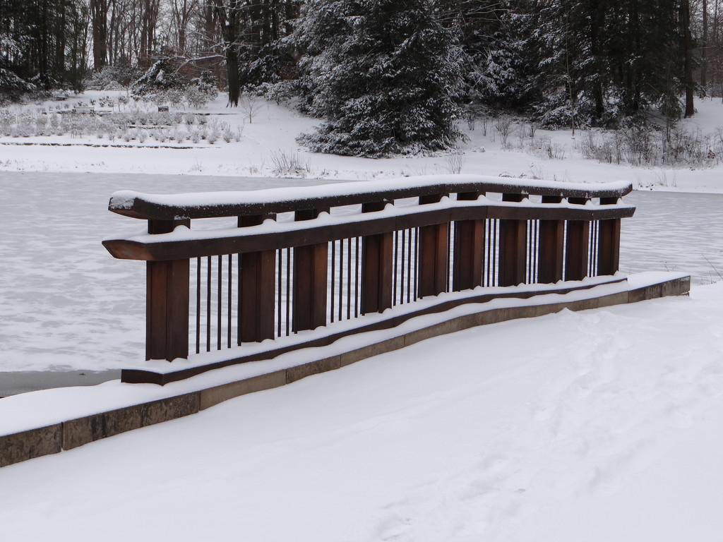 Bridge at the Arboretum by brillomick
