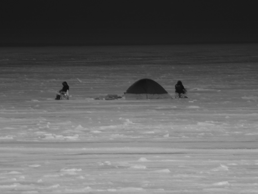 Looks more like an iglo than fishing hut by bruni