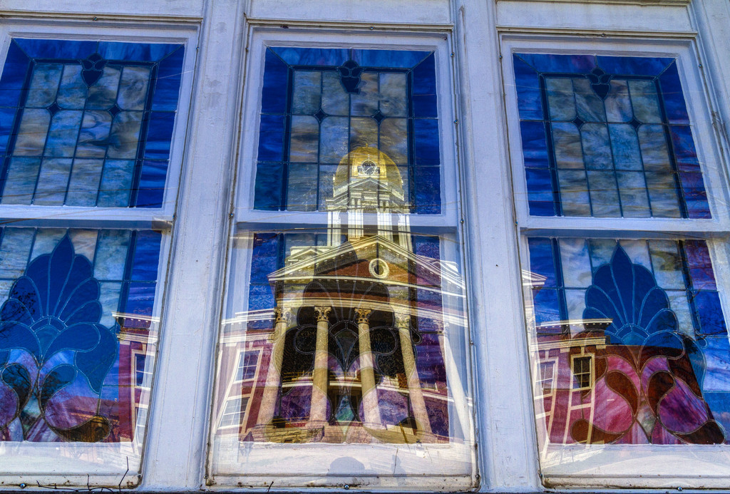 Gold Dome Reflections by kvphoto