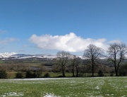 27th Feb 2020 - Snow on the hills