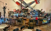 1st Mar 2020 - A bar with a plane above !
