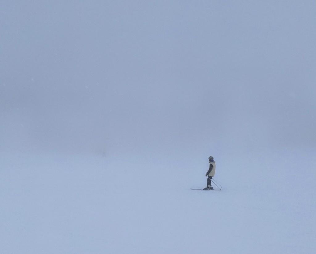Minimal Skier by tdaug80