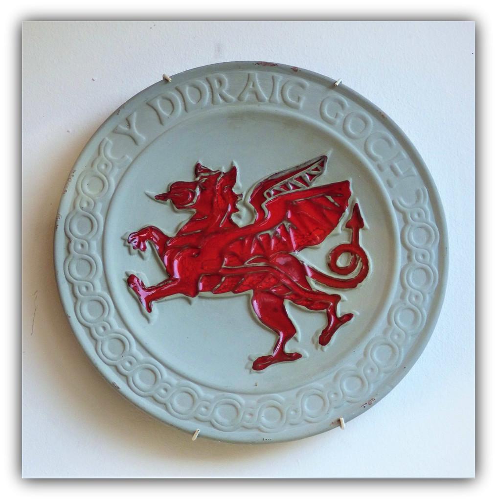 Y Ddraig Goch  ( the Red Dragon of Wales ) by beryl