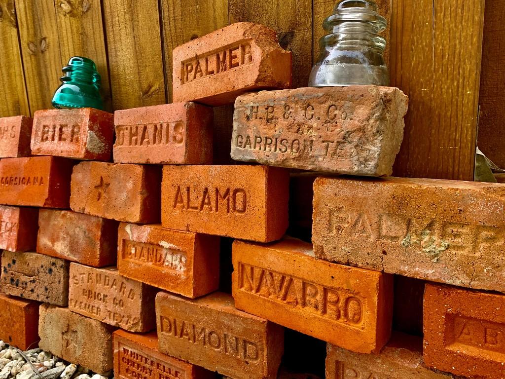 Texas bricks by louannwarren