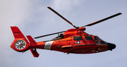 3rd Mar 2020 - Coast Guard Helicopter Fly-by!