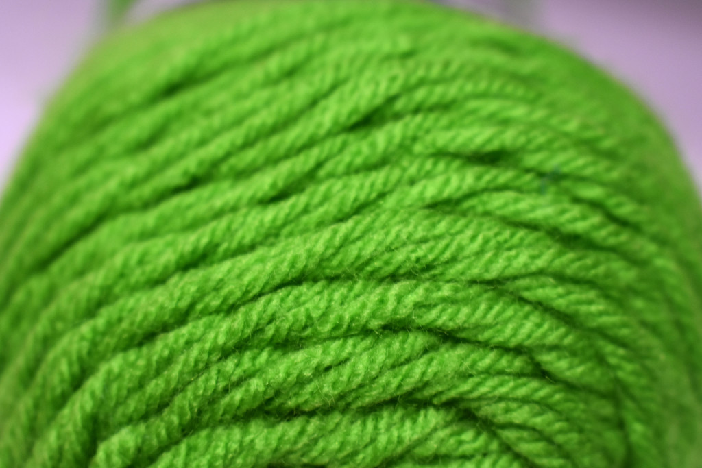 GREEN yarn by homeschoolmom