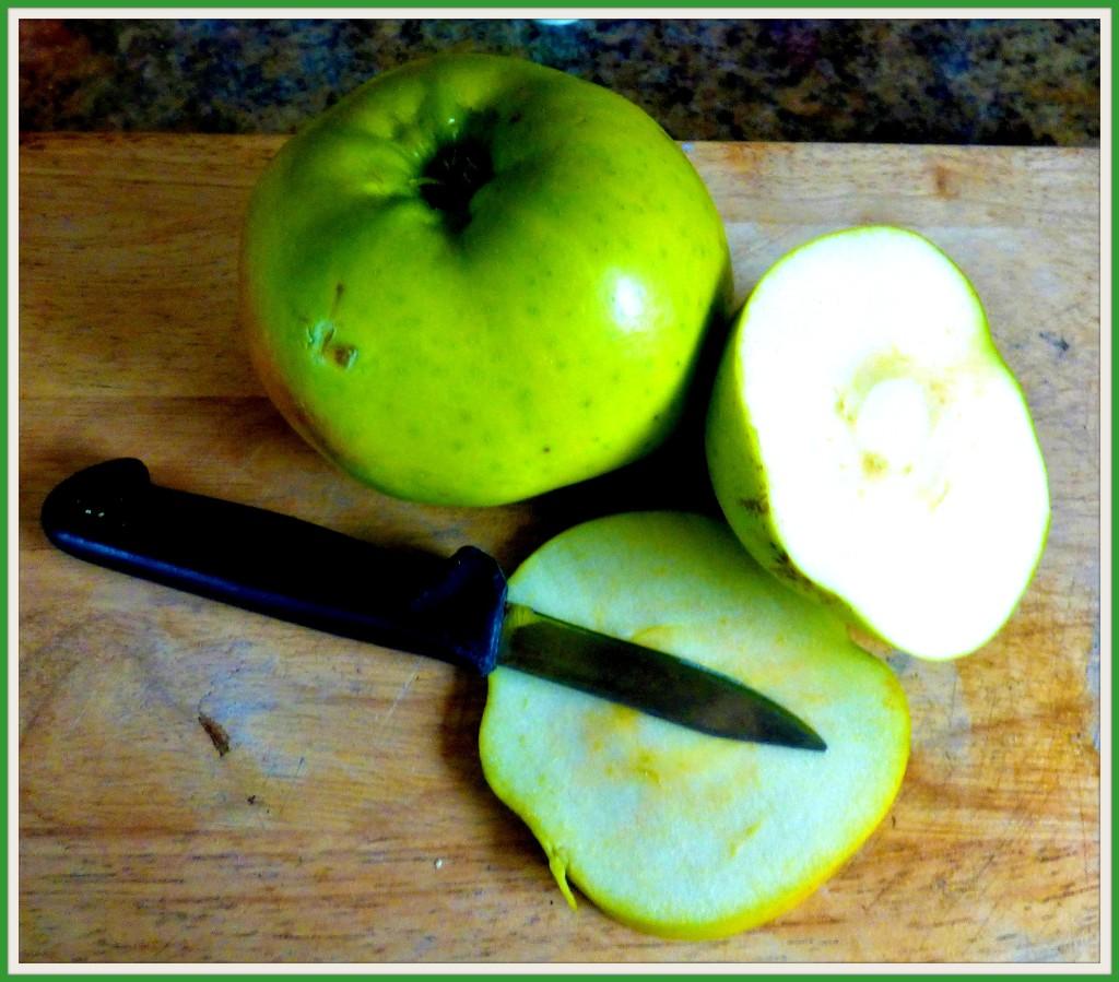 One green Apple  by beryl