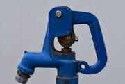 6th Mar 2020 - Blue Water Hydrant -Rainbow2020