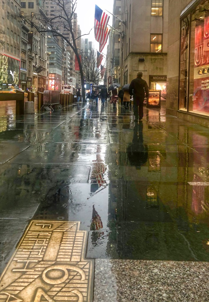 A rainy afternoon on 5th Avenue  by suesmith