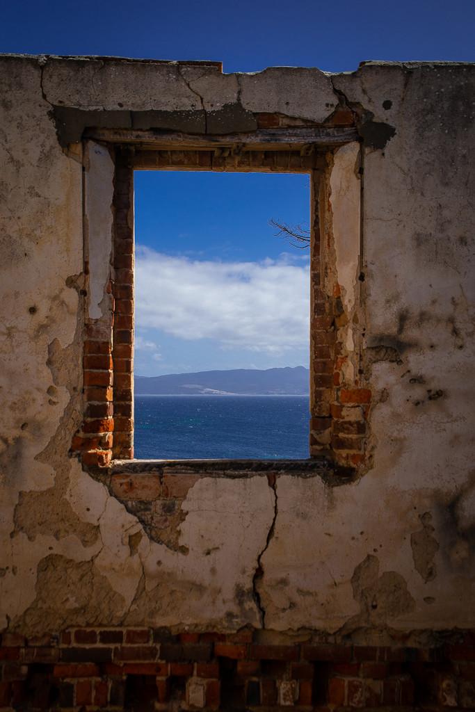 Abandoned Buildings Maria Island Tasmania by purdey