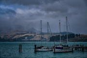 11th Mar 2020 - Magazine Bay marina in a southerly gale