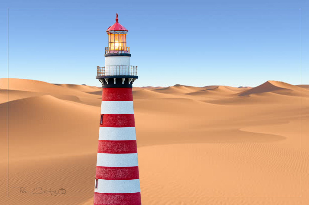 Desert Beacon by stray_shooter