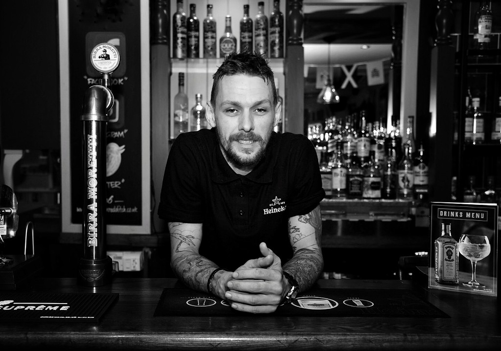 Barman by photopedlar
