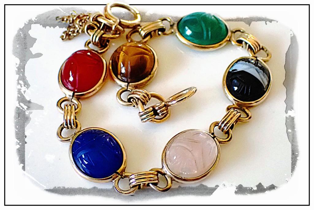 Aunt Leslie's Bracelet by olivetreeann