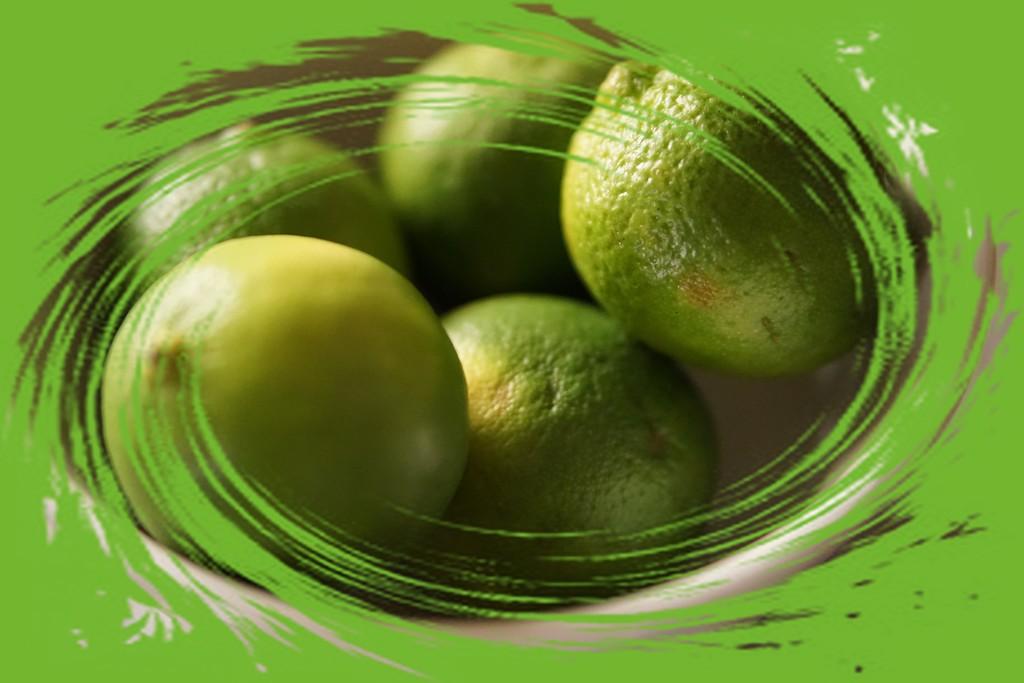 a bowl of limes by quietpurplehaze