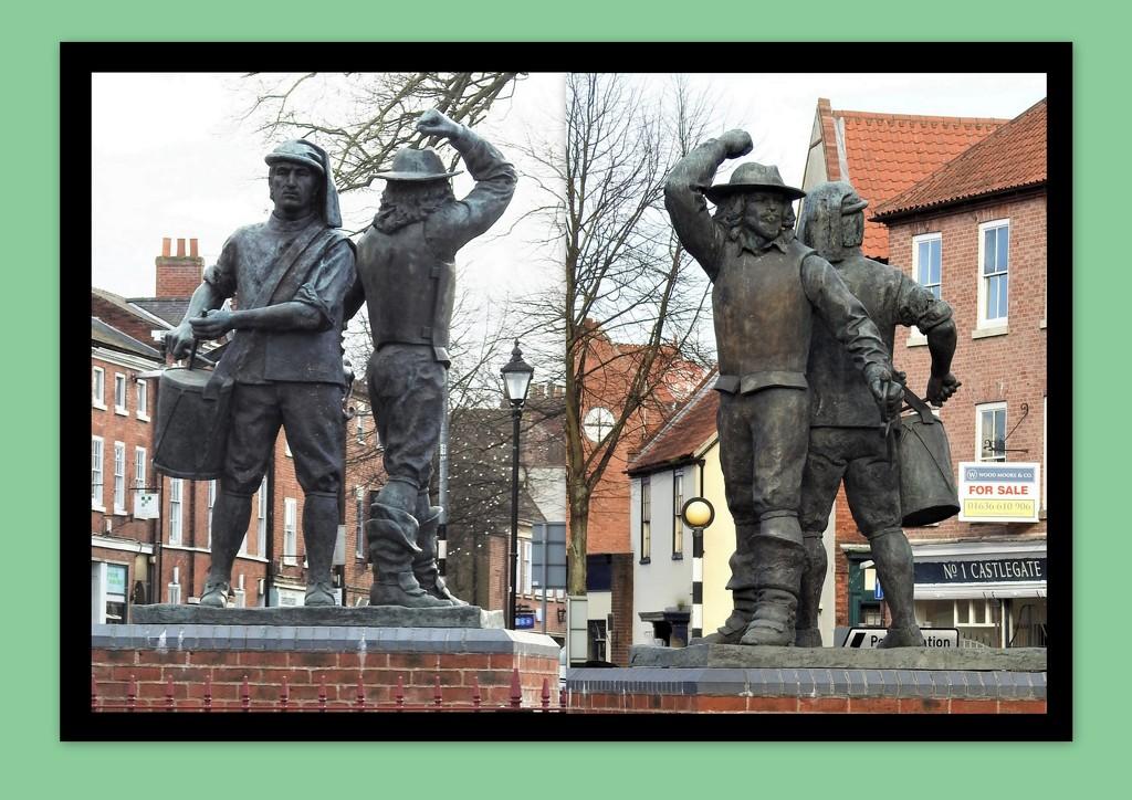 Civil War Statue by oldjosh