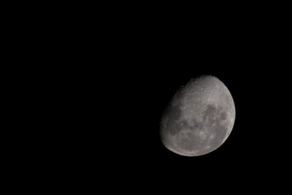 Tonight's Moon ~ 11.46pm by kgolab