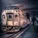 commuter train by jernst1779