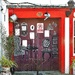 Clonakilty Main Street : the purple door of the Antique Shop
