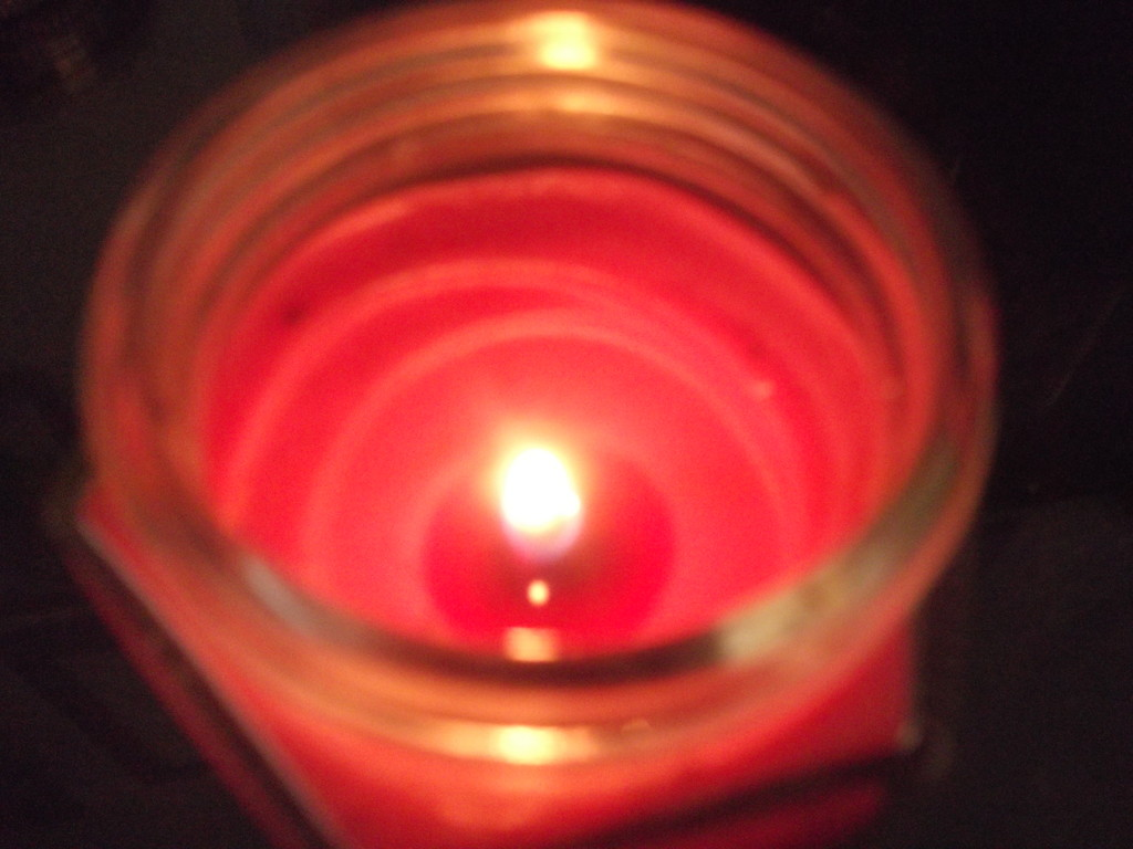 Reflections in candle. by thedarkroom