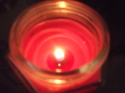 13th Mar 2020 - Reflections in candle.