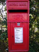 16th Mar 2020 - Postbox Red