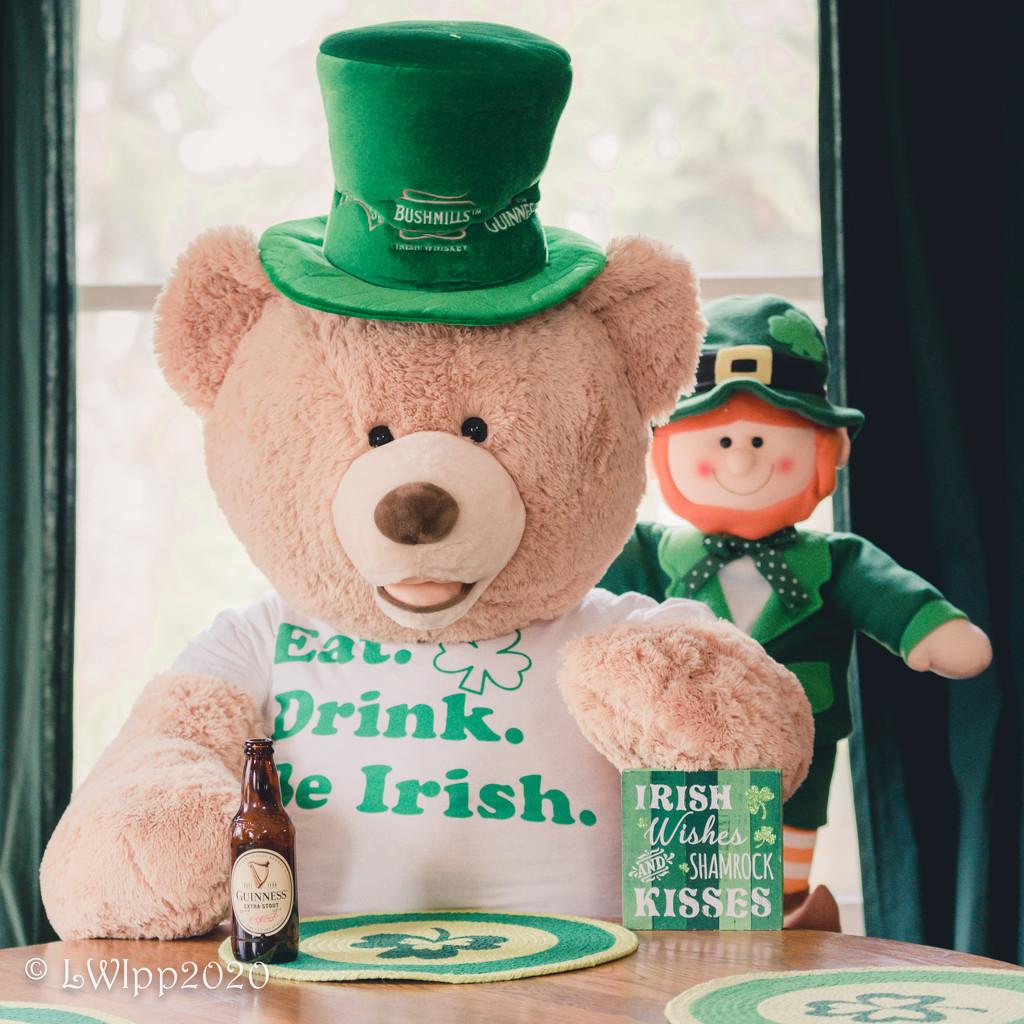 Bearly Irish by lesip