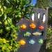 Limes & garden art.