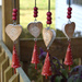 Windchime hearts