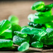 Green Beach Glass by kwind