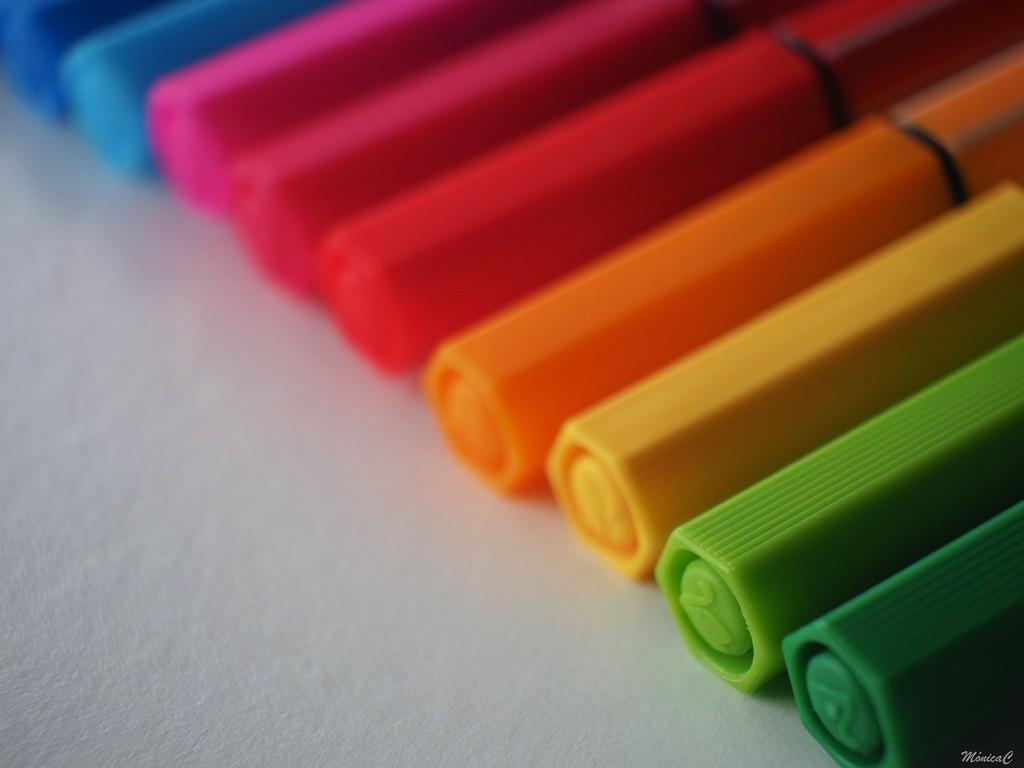 Felt tip pens by monicac