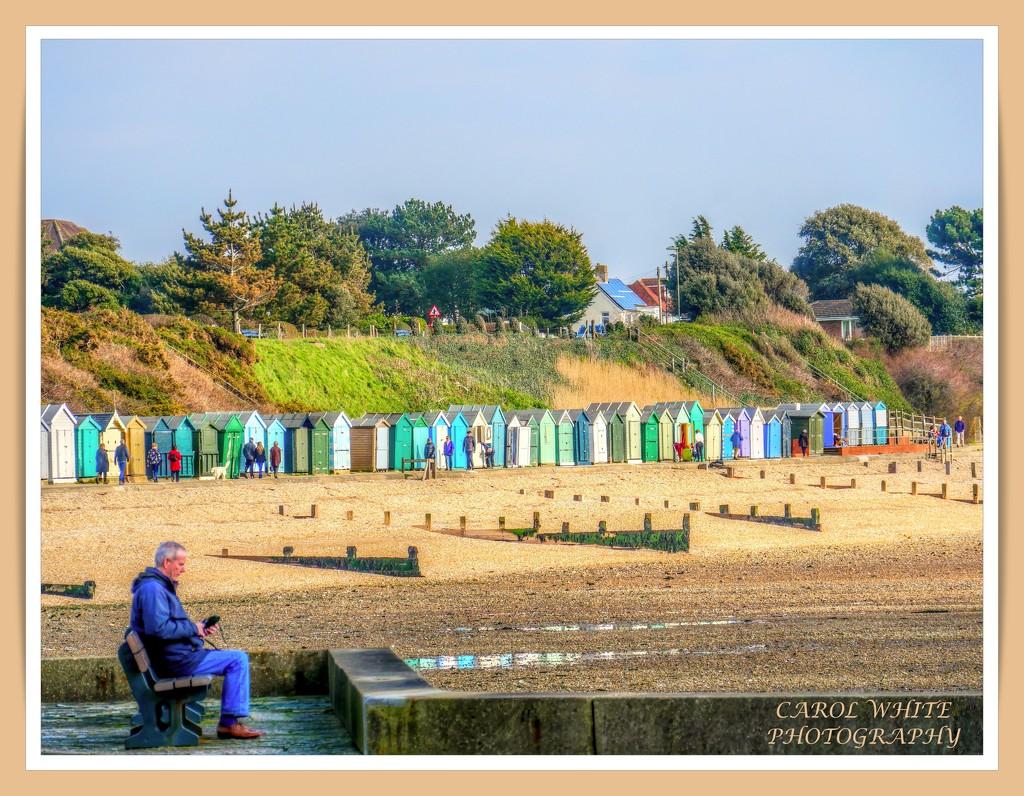 Beach Huts,Titchfield Haven by carolmw