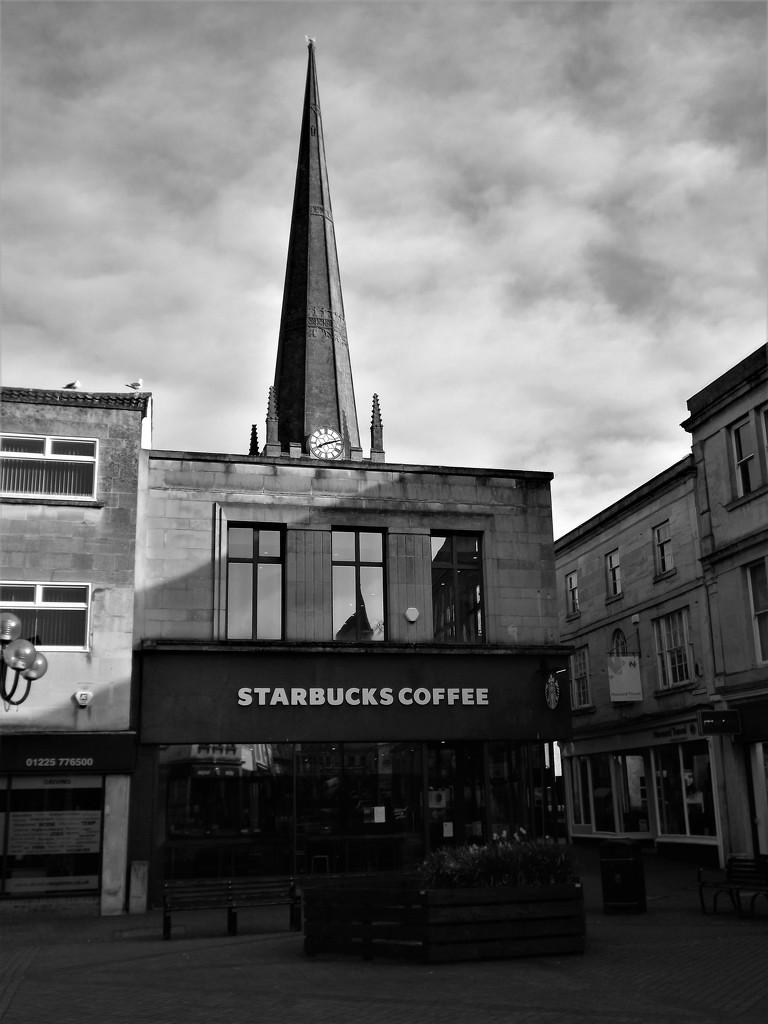 The Church of Starbucks by ajisaac