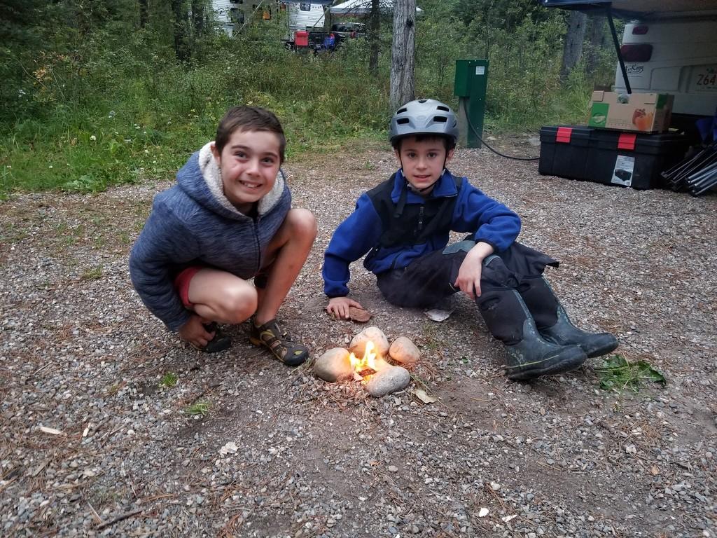 Campfire? by schmidt