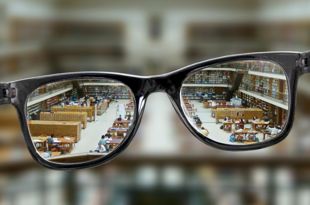 Reading Glasses by onewing
