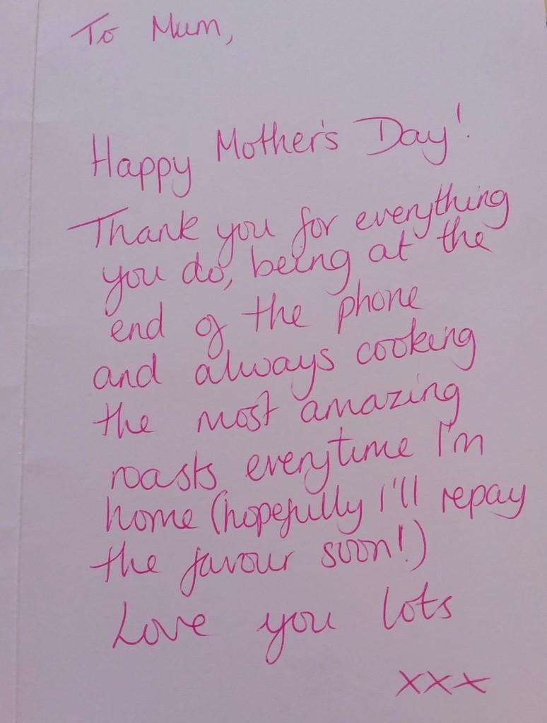 Mothering Sunday Greeting by 30pics4jackiesdiamond