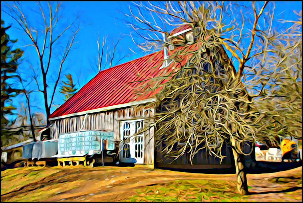 The Sugar House by olivetreeann