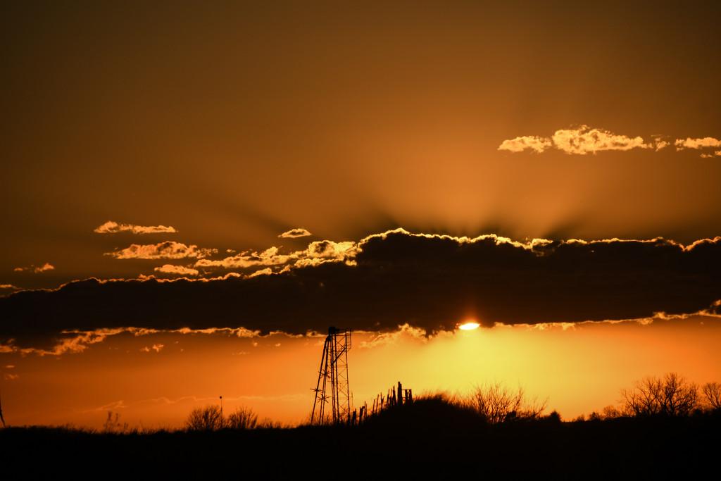 Kansas Sunset, 3-19-20 by kareenking