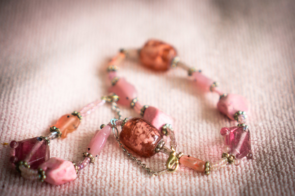 Pink beads by randystreat