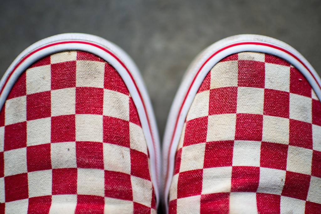 Red Vans by kwind
